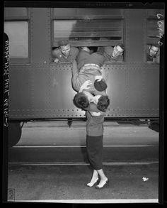 a kiss goodbye ww2