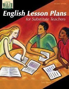 English Lesson Plans For Substitute Teachers