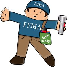 FEMA Flat Stanley http://www.ready.gov/flatstanley #flatstanley.  I mention wanting a CERT Flat Stanley in one darn meeting with FEMA & he shows up in a FEMA shirt.  I love it!