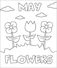 May Coloring Pages For Preschoolers Coloring Pages