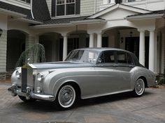 """Rolls-Royce Silver Cloud II - this is my Mom's absolute favorite car.  Even today this car says, """"I have arrived."""""""