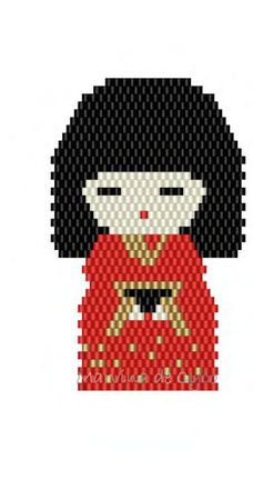 Deuxième chinoise enperles