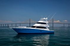 The Ultimate Sport Fishing Yacht. Deep Sea Fishing Boats, Fishing Boats For Sale, Sport Fishing Boats, Viking Yachts, Yatch Boat, Offshore Boats, Sky Bridge, Offshore Fishing, Used Boats
