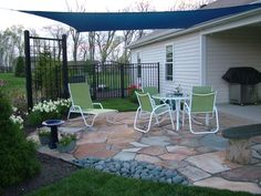 Happy birthday with this awesome shade sail.  Love our garden and grateful to the Lord for His blessing!