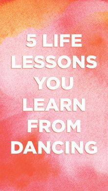 Dance class teaches you more than how to passé. ✨