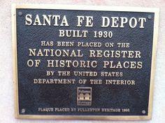 Fullerton Train Station - California