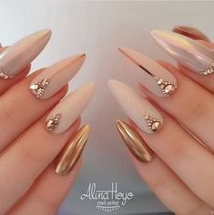 Do you want to easily find your favorite almond nails and oval nails? We have 90 the hottest almond and oval nails for you. Enjoy these amazing nails art in your spare time! We hope to have your favorite. Matte White Nails, White Acrylic Nails, Best Acrylic Nails, Nude Nails, Stiletto Nails, Pink Nails, Gel Nails, Periwinkle Nails, Nail Nail