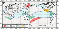 Global impacts associated with La Niña events