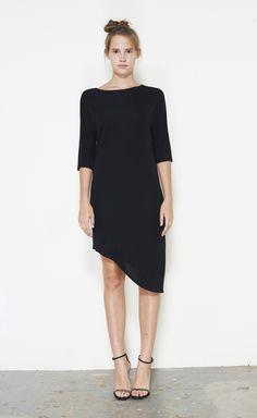 Zero + Maria Cornejo Black Dress