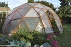 Northern Home Garden: How to build a GeoDome greenhouse?