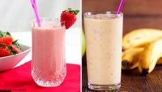 5 υπέροχα smoothies για πρωινό με φράουλα και μπανάνα - Με Υγεία