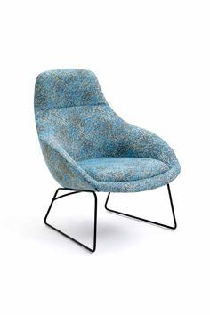 naughtone Always Lounge chair. www.naughtone.com/portfolio #modern #contemporary #design #lounge #interiors #product #productdesign #designideas #furniture #architecture #madeinbritain #sustainable