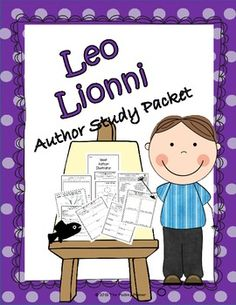This Leo Lionni author study packet has pages which are open-ended. This allows teachers to choose the books that they want to focus on during th. Leo Lionni, Classroom Crafts, Classroom Fun, Preschool Books, Book Activities, Reading Tree, Autism Learning, School Fun, School Ideas