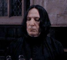 Professor Severus Snape, Harry Potter Severus Snape, Alan Rickman Severus Snape, Severus Rogue, Harry Potter World, Slytherin, Hogwarts, Lily Potter, Half Blood
