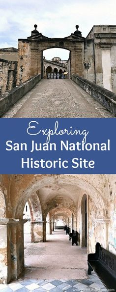 San Juan National Historic Site ... one of the best things to do in San Juan, Puerto Rico! Tons of photos and tips for visiting this historic fort, U.S. National Park, and World Heritage Site. Learn about the different parts of the San Juan National Histo