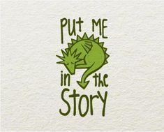 Logo Design: Put Me in the Story by Vladimir Sijerkovic