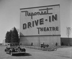 Drive-in Theater in Dorchester, Massachusetts. I went to this drive in when I visited my cousin as a child. In later years, it was the site of a flee market that I had visited. Old Photos, Vintage Photos, Vintage Signs, Vintage Photographs, Vintage Tools, Vintage Stuff, Vintage Ads, Movies For Sale, Drive In Movie Theater