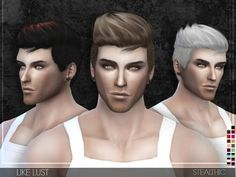 The Sims Resource: Like Lust hair by Stealthic • Sims 4 Downloads Custom Content
