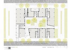 46 Social Houses,Ground Floor Plan