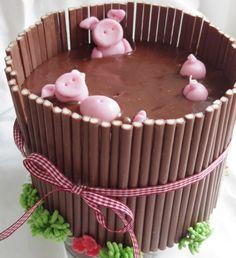 Torte Schwein
