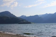 This cruiseship has been visiting Stryn at the vestcoast of Norway. Picture taken from the beach at Lote. Great Places, Norway, Mountains, Beach, Nature, Pictures, Travel, Naturaleza, Photos