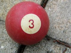 Your Lucky Number Three by assemblage333 on Etsy, $4.00