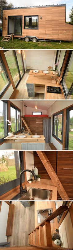 A French tiny house available for sale in Riocaud