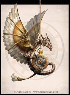Anne Stokes, Dragon Artwork, Gothic Fairy, Beautiful Fantasy Art, Fantasy Dragon, Creature Design, Digital Pattern, Cross Stitching, Magick