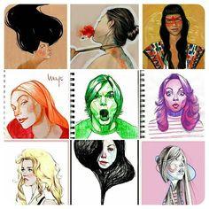 My life . . . . . #art #nofilter #artist #artsanity #artlovers #artnews #funk #artwork #artgallery #artstudio #artinfo #agoragallery #poetry #color #Madrid #lovely #illustrator #inspiration #instaartoftheday  #poetryporn #peru #mayollancares #Dubai #photooftheday #artFido #portraits #portraiture #people #artsy#instaartist