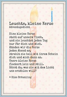 Sometimes silence is the most powerful scream and indication of something being terribly wrong. The post Leuchte, kleine Kerze. Adventsgedicht appeared first on Dekoration. Winter Christmas, Christmas Time, Merry Christmas, Christmas Poems, Kindergarten Portfolio, Diy Crafts To Do, Small Candles, Kids And Parenting, Christmas Decorations