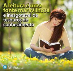 Familia.com.br | A #importância de #ler #bons #livros. #incentivoaleitura