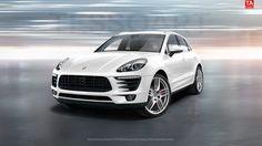 White Porsche Macan Hd Wallpaper