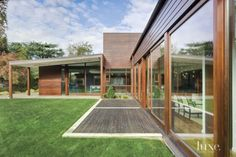Modern Neutral Exterior with Expansive Windows
