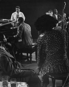 James P. Johnson, piano, Franz Jackson, saxophone, Josh White, guitar, 1943
