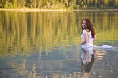 Really fucking sad.//Canadian Woman Drowns Two Months After Wedding While Standing in a Lake During a Trash the Dress Session | Maria Pantazopoulos