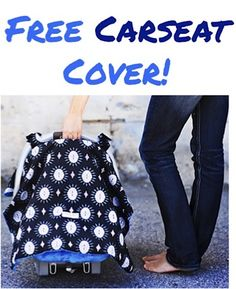 FREE Adorable Carseat Canopy! {just pay s/h} ~ these make great gifts, too!