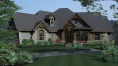 Drooling... La Meilleure Vie House Plan - 2297 - I really, really, really like this plan!