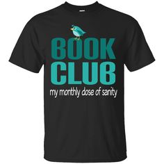 Book Club T-shirt Funny Monthly Reading Group Gift Tee Book Shirts, Tee Shirts, Reading Groups, Funny Tees, Check, Books, Mens Tops, How To Wear, Stuff To Buy