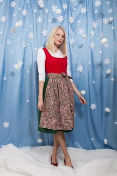 Dirndl von Bergluft auf DaWanda.com Etsy, Floral, Skirts, Fashion, Dirndl, Dresses For Women, Florals, Moda, La Mode