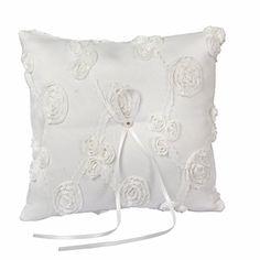 Valdler Elegant Lace Ring Bearer Pillow for Wedding Party Prom (White) Valdler http://www.amazon.com/dp/B00RXENE8G/ref=cm_sw_r_pi_dp_WD2Evb04ZKSQX