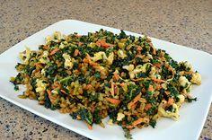 Freekeh Kale Salad | One Green Planet