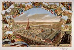 """pbsthisdayinhistory:  """" March 31, 1889: The Eiffel Tower Opens  On this day in 1889, the Eiffel Tower was dedicated in a ceremony in Paris. Built in commemoration of the French Revolution, it was the tallest building in the world when it was unveiled..."""