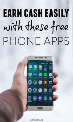 Use money making apps to earn some extra quick cash in no time. These free smartphone apps can put money in your pocket with little effort.