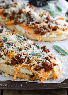 Sage Chorizo Sweet Potato Naan Pizza. has a creamy ricotta base, sweet & spicy chorizo and a sharp parmesan topping. Pizza Heaven! GET THE RECIPE Sage Chorizo Sweet Potato Naan Pizza submitted by Running to the Kitchen Related PostsTrahanoto with courgettes (zucchini) and ricottaPumpkin Prosciutto Flatbread with Sage, Ricotta and Caramelized OnionRicotta Sage Honey Stuffed …