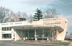 Oldsmobile Dealership Buildings ...56-57 ?
