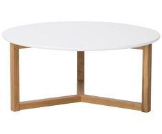 Einfach angenehm! Couchtisch RAPHAEL von Actona birgt nordische Einfachheit und Stilbewusstsein in einem. Die perfekte Ablage für Accessoires rund um Fernseher und Wohnzimmer. Der Feierabend kann kommen! Couchtisch RAPHAEL wird Ihnen bald ans Herz wachsen und unersetzbar für Ihr Wohnzimmer sein. Couchtisch RAPHEL besteht aus hochwertigem, lackiertem  Eichenholz, die Tischplatte ist weiß lackiert. Der Tisch bietet also viel Platz für Deko, Zeitschriften und mehr! Coffe Table, Sweet Home, Interior, Design, House, Furniture, Home Decor, Lifestyle, Medium