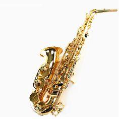 Alto Eb Falling Tune E Sax Wind Instrument Saxophone copper Gold Lacquer saxofone Saxe alto Professional Musical Instrument