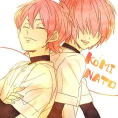 Kominato haruichi and ryousuke