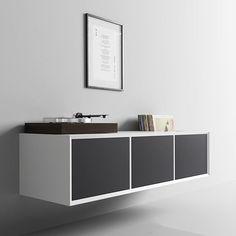 Visual silence... #danish #design #clic #clicfurniture #simple #solution #hifi #music #system #turntable #vinyl #furniture #hear #beauty #see #beauty #hide #everything #else Music System, Danish Design, Turntable, Cabinet, Tv, Storage, Simple, Furniture, Beauty