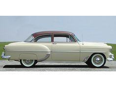 "1953 Chevrolet, we had a car JUST LIKE this!  Her name was ""Betsy C"""